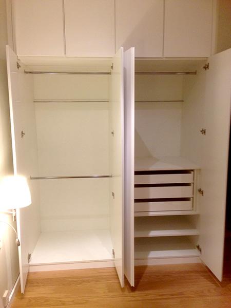 Armarios mb concept for Roperos empotrados para dormitorios con espejo