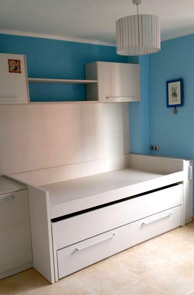 Dormitorio juvenil a medida en melamina