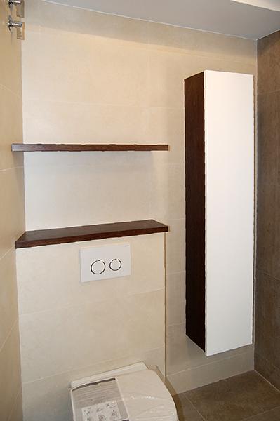 Mueble De Ba O Suspendido Con Encimera Hidr Fuga Mb Concept