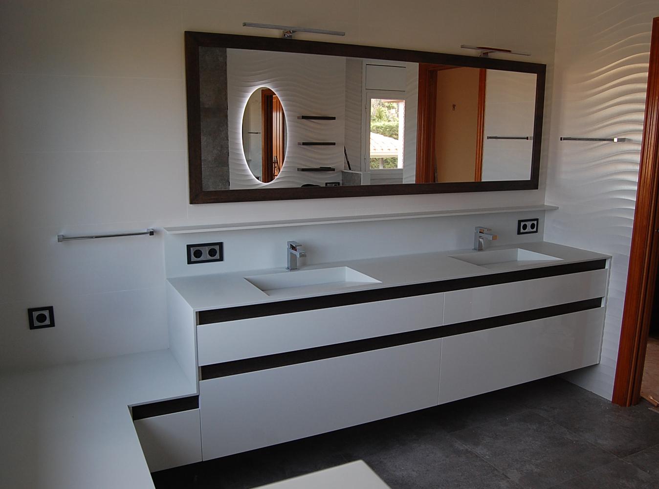 mueble de ba o y mueble tocador suspendidos mb concept On diseño baño tocador